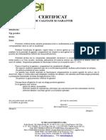 Certificat de garantie - model.doc