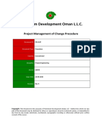 PR-1247 - Project Management of Change Procedure