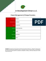 PR-1247 - Project Management of Change Procedure
