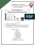 Gestion y Emprendimiento