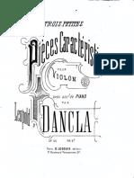 LDancla Trois Petites Pièces Caractéristiques, Op55 Fe
