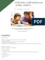 Manual Cristao Para a Pré-escola (0-3 Anos), Parte 1