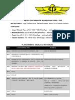 Planejamento Classe Pioneiro Hp2