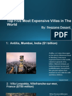 Most Expensive Villas in World by Seqzane Dasent