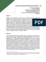 Salas La Nueva Ruralidad en Los Estudios Territoriales