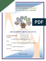 3. Estructura Del Estsdo de Costos de Producción
