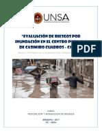 Prevención y mitigacion de desastres Casimiro Cuadros 1