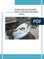 Solar Based Cooking India