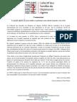 CFDA - Le peuple algérien ne peut oublier et pardonner sans obtenir la justice et la vérité