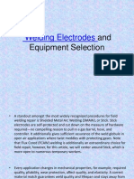 Welding Electrodes and Equipment Selection
