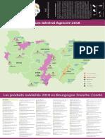 Les produits médaillés 2018 en Bourgogne-Franche-Comté