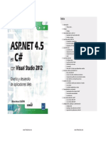 ASP.net 4.5 en c# Con Visual Studio 2012 Horizontal
