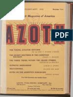Azoth, February 1919