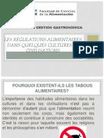 Les Régulations Alimentaire (2)