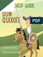 Teachers Guide Don Quixote