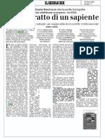 E. Zolla Ritratto Ad Un Sapiente Intervista a G. Marchianò