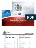 Presentacion Presidente Piñera Consejo de Americas 22 sept 2010