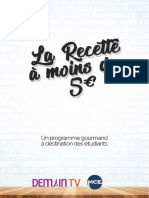 Dossier La Recette à moins de 5€