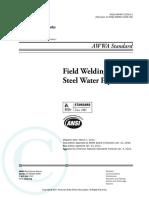 AWWA C206-11 Field Welding of Steel Water Pipe