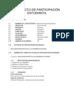 Participación Estudiantil Angie 2017
