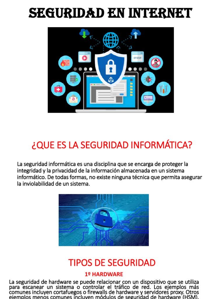 Seguridad En Internet Seguridad Y Privacidad En Línea