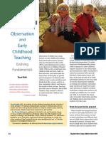 observing children article