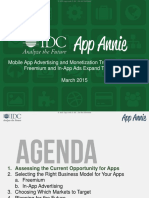 App Annie IDC Mobile App Advertising Monetization Trends 2013 2018