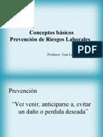 Resumen Tecnico en Prevencion.