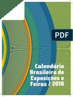 Calendário Brasileiro de Exposições e Feiras 2018