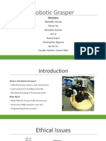robotic grasper presentation