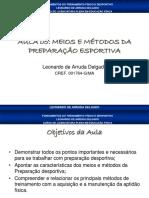Aula05(Conteúdos, Meios e Métodos de Treinamento )