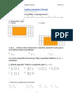5. Osztályos Matematikai Feladatok (Törtek)