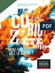 Plaquette Curioz'été Charente 2018