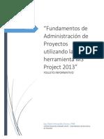 Folleto Uso Ms Project 2013
