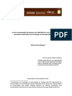 A Nova Conceituação de Pessoa Com Deficiência e Sua Importância Na Concessão Do Benefício de Prestação Continuada(BPC) No Brasil