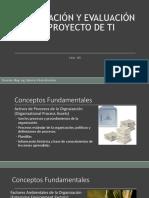 Formulación y Evaluación de Proyecto de Ti