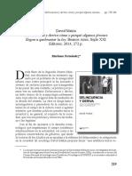 David Matza Delincuencia y deriva cómo y porqué algunos jóvenes llegan a quebrantar la ley, Buenos Aires, Siglo XXI Editores, 2014, 272 p.