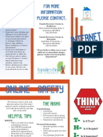 internet safety brochure