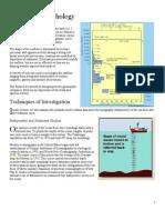 Seafloor Morphology