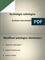 SEMIOLOGIE RADIOLOGICA