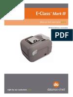 Manual Del Usuario DATAMAX O'NEIL