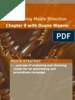 Advertising Media Selection-Chp 9