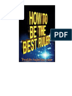 How to be the Best Ruler - (Second Edition)