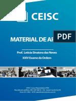 Material de Apoio - Prof. Let+¡ciaa