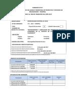FONIPREL3 Formato Nº 07 Ficha de Seguimiento - Primer Trimestre