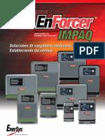 Enersystem Cargadores de Alta Frecuencia Folleto Tecnico de Cargadores de Baterias Impaq 1219821