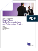 Hosted Cloud UnifiedCommunications and Collaboration Solution