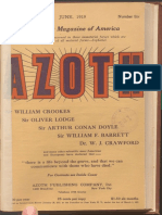 Azoth, June 1919