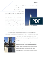 griffith observatory report