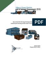 Housing Needs and Demand Assessment